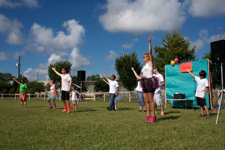 Outreach in the Park - Aug 2013